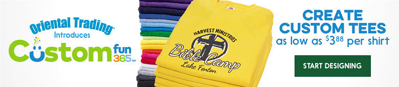 Visit Our New Custom Fun Tshirt Business for all you Vacation Bible school needs.