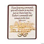 Abide in Him Pins with Card