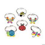 Adjustable Bug Rings