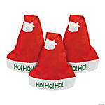 "Adult ""Ho! Ho! Ho!"" Santa Hats"