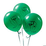 All Suited Up Leprechaun Green Balloons