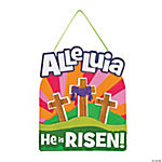 Alleluia, He is Risen Sign Craft Kit