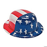 American Flag Derby Hat