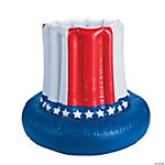 American Flag Inflatable Cooler