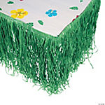 Artificial Grass Tropical Green Table Skirt