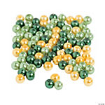 Assorted St Patrick's Day Beads  - 4mm