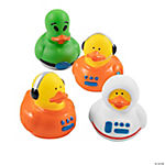 Astronaut/Space Alien Rubber Duckies