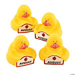 August Rubber Duckies