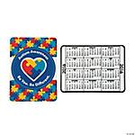 2016 Autism Awareness Wallet Card Calendars