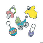 Baby Enamel Charms