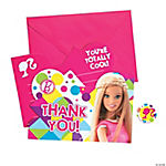 Barbie™ Sparkle Thank You Cards