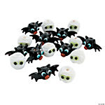 Bats & Mummies Lampwork Beads - 13mm-28mm
