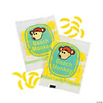 Beach Monkey Banana-Shaped Candy Fun Packs
