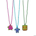 Beaded Tropical Necklaces