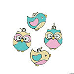 Birds & Owls Enamel Charms