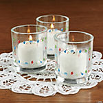 Birthday Celebration Votive Stickers
