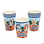 Birthday Puppy Cups