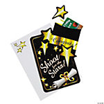 Black & Gold Graduation Gift Card Holders