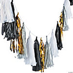 Black & White Tassel Garland