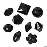 Black Bead Assortment - 12mm - 15mm