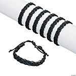 Black Braided Friendship Bracelets