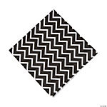 Black Chevron Luncheon Napkins