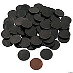 Black Chocolate Coins