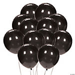 Black Latex Balloons