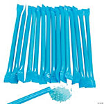 Blue Candy-Filled Straws