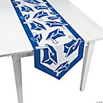 Blue Congrats Grad Table Runner