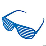 Blue Shutter Shading Glasses