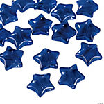 Blue Star Beads - 11mm