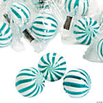 Blue Striped Hard Candy Balls