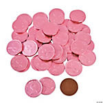 Breast Cancer Awareness Chocolate Coins