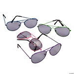 Bright Color Aviator Sunglasses