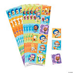 Bubble Guppies Sticker Strips