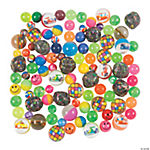 Bulk Bouncing Ball Assortment - 100 pcs.