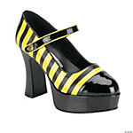 Bumble Bee Striped Platform Shoes
