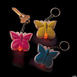 Butterfly LED Light-Up Key Chains