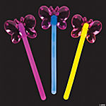 Butterfly Premium Glow Wands