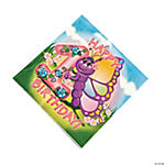 Butterfly 1st Birthday Luncheon Napkins