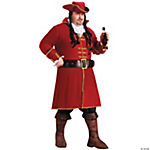 Captain Blackheart Plus Size Adult Men's Costume