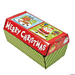 Cardboard Santa's Treasure Chest Box