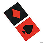 16 Casino Luncheon Napkins