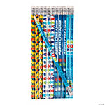 Child Abuse Awareness Ribbon Pencils