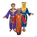 Child's Three King's Costume Set