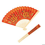 Chinese New Year Dragon Folding Fans