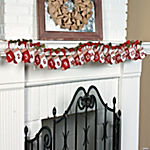 Christmas Countdown Stocking Garland