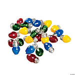 Christmas Lights Beads - 8mm x 13mm