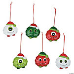 Christmas Monster Ornaments